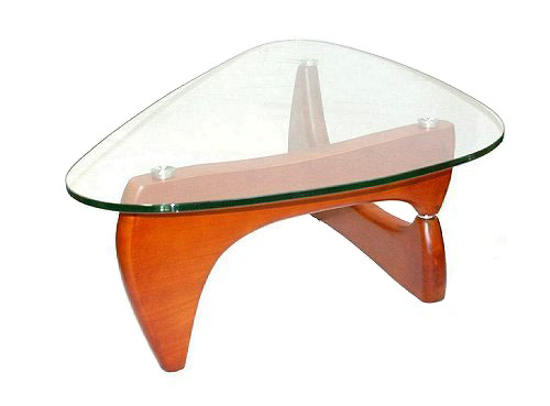 Mouse Over Image To Zoomnew Isamu Noguchi Premium Replica Retro Glass Tea Coffee Table Beech