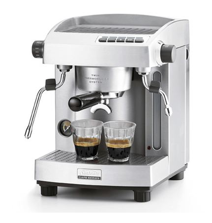 new sunbeam cafe series espresso coffee machine maker em6910. Black Bedroom Furniture Sets. Home Design Ideas